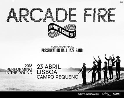 ARCADE FIRE 23 de Abril
