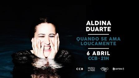 Aldina Duarte ao vivo