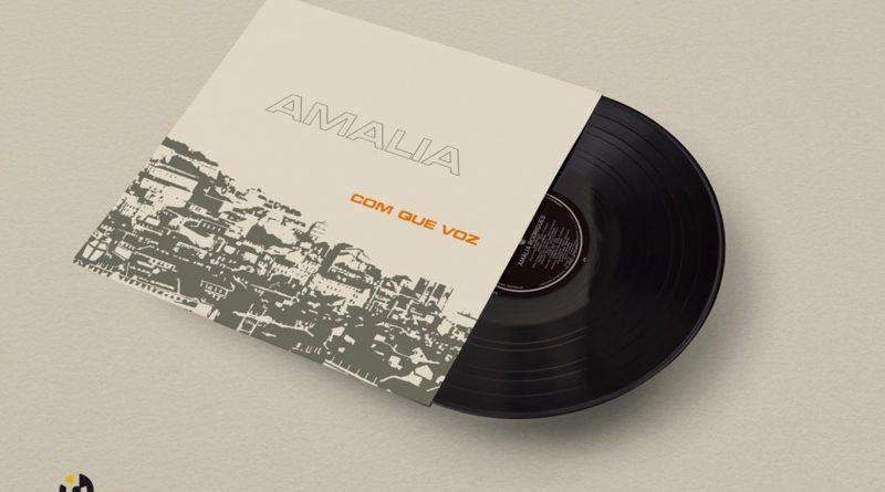 """Amália: """"Com Que Voz"""" em Vinil chega às lojas em vinil, uma reedição fac-similada da original."""