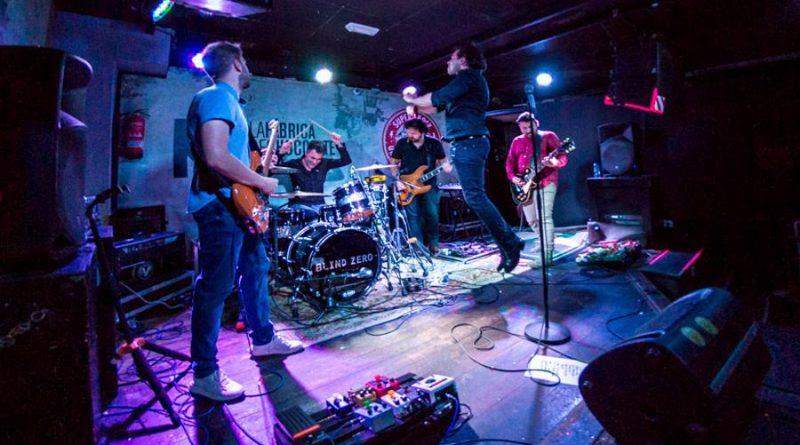 Blind Zero encerram tour Clubs 25 em Aveiro na sexta-feira