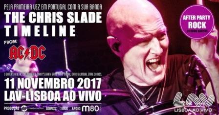 CHRIS SLADE baterista dos ACDC