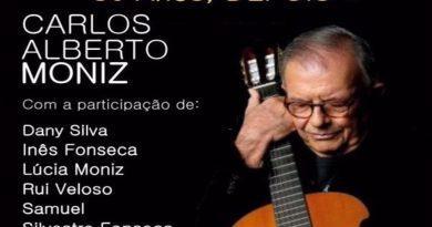 Carlos Alberto Moniz celebra 50 anos de canções no Casino Estoril a 1 de Outubro