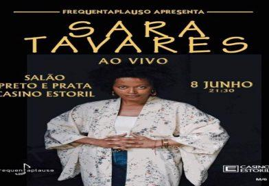 Sara Tavares interpreta grandes êxitos no Salão Preto e Prata do Casino Estoril