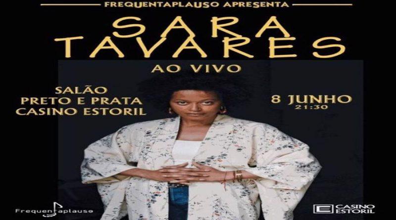 Sara Tavares interpreta grandes êxitos no Salão Preto e Prata do Casino Estoril