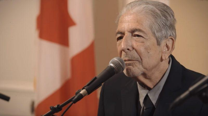 Leonard Cohen Thanks for the dance interview