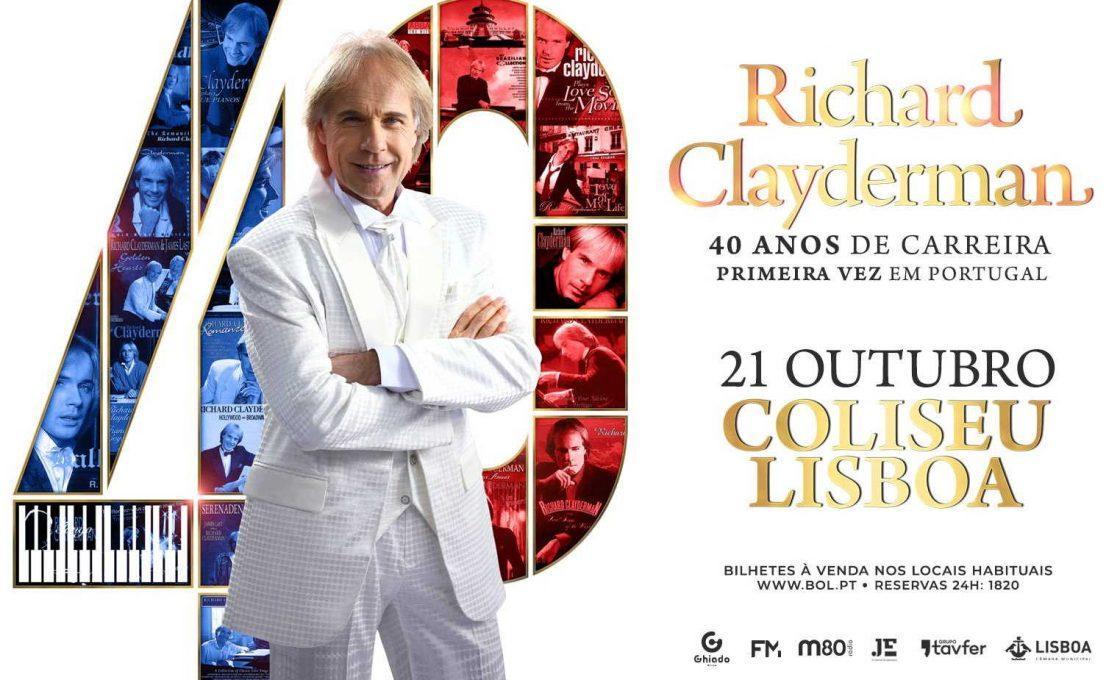 Richard Clayderman Coliseu 2019