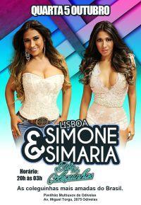 Simone e Simaria em Portugal