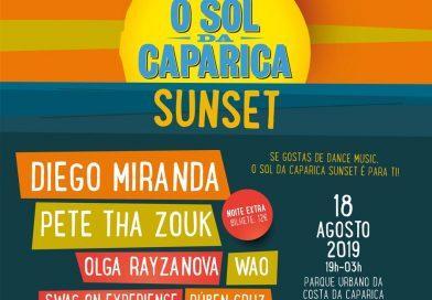 Primeiro Sol da Caparica Sunset para os amantes de dance music