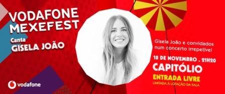 Vodafone Mexefest Gisela Joao