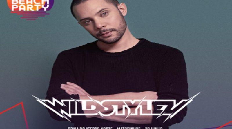 Wildstylez – Nova confirmação Galp Beach Party